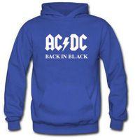 Heißer Verkauf ACDC Band Mode Herren Kapuze Pullover Slim Fit Sportswear