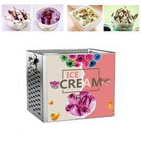 Household Fried Ice Machine Fried Yogurt Fried Ice Cream Roll Machine Small Commercial Smoothie Machine DIY 220V 110V