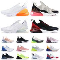 Nike Air Max Airmax 270 270s Laufschuhe USA Sommer NikAir MaxMaxAir Total Orange rot Schwarz Weiß 27c Sport Off Trainer Sneakers Größe 36-45