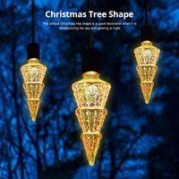 Strings Christmas Tree Shape Firework Light Bulb LED E27 Lights For Cafe Bar Holiday Party Wedding
