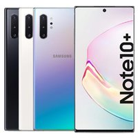 Refurbished Original Samsung Galaxy Note 10 Plus Note 10+ 6.8 inch Octa Core 12GB RAM 256GB ROM Android 4G LTE Unlocked Smart Mobile Phone Free DHL 5pcs