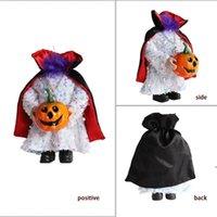 Decorazione di Halloween Nessuna testa Doll Pumpkin Dolls Ornament Ghost Festival Tricky Atmosphere Puntelli Home Decor Decorazioni senza testa Decorazioni OWF9001