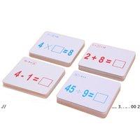 Yeniducational oyuncaklar matematik öğretmek kartı çocuk okul öncesi aracı anaokulu oyunları ebeveyn-çocuk oyuncak çocuklar matematik eğitici oyuncaklar ewf5623