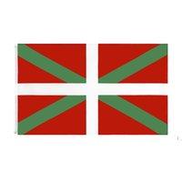 Bask Natinal Bayrak Perakende Doğrudan Fabrika 3x5fts 90x150 cm Polyester Afiş Kapalı Açık Kullanım Tuval Kafa ile Metal Grommet HWB9349