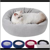 Beds Furniture Pet Supplies Home & Gardenpet Plush Bed Thickened Soft Cat Cushion Dog Sleeping Pad For Four Season Ud881 Drop Delivery 2021