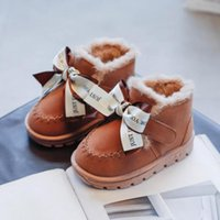Boots Winter Baby Boys Girls Shoes Kids Fashion Snow Warm Cotton Thick Sport Children Casual Plush Sneakers