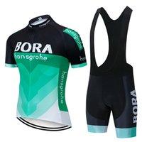 Bora с коротким рукавом подтяжки велосипедные костюмы летняя дорога верхняя дышащая мужская