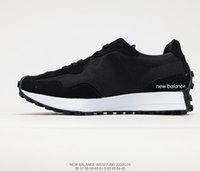 327 черные белые кроссовки мужские женские кроссовки MS327CPG