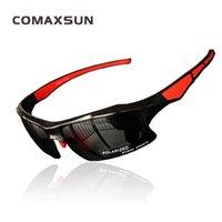 Comaxsun поляризованные велосипедные очки профессиональные велосипедные очки для велосипедов очки для солнцезащитных очков на открытом воздухе УФ 400 STS302R