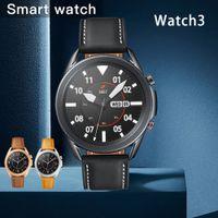 2021 Galaxy Watch3 44 мм Смарт-часы IP68 Водонепроницаемая реальная частота сердечных сокращений Часы Bluetooth Call для SmartWatch