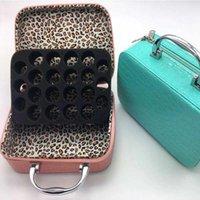 Storage Bottles & Jars 22 10ML 15MLEssential Oil Case Bag Holder Portable Travel Essential Bottle Organizer Nail Polish
