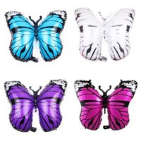 Party Decoration Butterfly Balloon Children S Toy Aluminum Foil Baby Wedding Bathing Birthday Wholesale