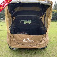텐트와 쉼터 트럭 텐트 태양 쉼터 SUV 자동 캐노피 휴대용 캠프 트레일러 옥상 차 천막 야외 캠핑 2021