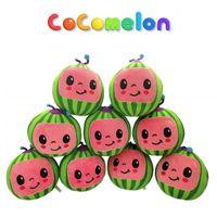 Sing Melon JJ Pelúcia Cocomelon Brinquedos Crianças Presente Bonito Chave Música Brinquedo Educacional Doll Boneca de Pelúcia Cocomelong Brinquedos De Pelúcia