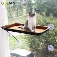 2020 Cat Hammock Bed Window Mounted Sofa Mat Comfortable Soft Kennel For cat cama para gato Hanging Shelf Seat H0929