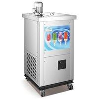 Dondurma Yapma Makinesi ZQR-01M Ticari Hızlı Soğutucu Entegre Manuel Meyve Yoğurt Popsicle