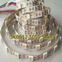 100m / lote SK6812 Mini SMD 3535 5050 RGB LED Pixel Strip 60LEDS / M DC5V ABPLIO COLOR A COMPLETO WS2812B FREESHIP