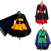 Thema Kostüm Shippuden Uzumaki Akatsuki Hajime Hinata Cosplay Kostüm Kimono Weibliche Lolita Kleid Anzüge Frauen Mädchen Halloween