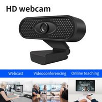 Webcams 1080P HD USB Webcam 2MP With Built-in Microphone Manual Focus PC TV Web Camera Live Streaming
