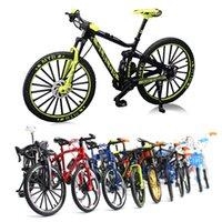 Doigt Toys Mini 1:10 Alliage Vélo Modèle Diecast Métal Métal Vélo Vélo Racing Jouet Collection de simulation routière pour enfants 0183