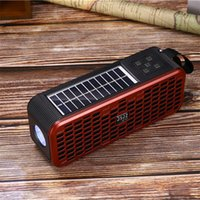 JZ131B Outdoor Sports Portable Mini Wireless Bluetooth Speaker Can Be Charged by Solar Energy 4Colors high quality