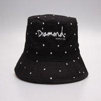 Fashion Newest Arrival Diamonds Fourniture Chapeaux Bob Bob Bob pour hommes Femmes Fisherman Hat Casquette de pêche