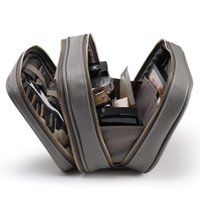 Worki kosmetyczne Przypadki Rownyeon Luksusowa torba Profesjonalny Makijaż Travel Organizer Case Beauty Niezbędne Makijaż Storage Box (Torba)