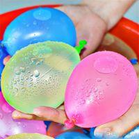 Balões de água de látex Bolas Bolas Bombas Bombas de Bombas Injeção Rápida Verão Beach Jogos Inflável Srirbing Ballons