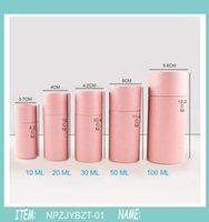 Presente Envoltório 500X 10/20/30/50 / 100ml Garrafa de Óleo Embalagem Caixa de Embalagem de Papel Kraft Embalagem Droensa Rodada de Papelão Batom Perfume