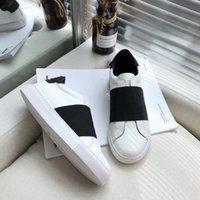 Homens Urban Street Webbing Sapatilhas Designer Sapatos Mulheres Branco Tela Preta Tela Treinadores de Lona Low Top Slip no sapato casual de couro