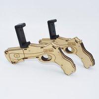 محاكاة الليزر DIY3D مسدس ar لعبة نموذج الجمعية الخشبية بندقية