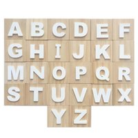 Novelty Items 6CM Wooden Alphabet Letters ABC Blocks Cubes Baby Kids Preschool Learning Toys Toddlers Gift Room Decor Ornamnets Po Props