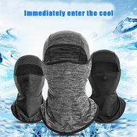 Cycling Caps & Masks Breathable Mask Men Women Full Face Bandana Sport Running Hunting Training Scarf Neck Warmer Balaclava Moto Head Cover