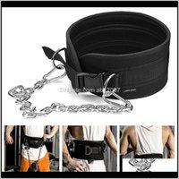 Accessori Sollevamento pesi con catena cinghia di immersione per tirare il mento up kettlebell bilanciere fitness bodybuilding palestra 1 qqyny yianw