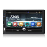 Car Video Universal 2 Din 7 Inch Touch Screen Stereo Auto Radio Multimedia Player,2Din Rearview Mirror Link FM TF Bluetooth MP5 Audio