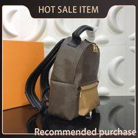 Rucksack Hot NWIH Mode Braun Designer Unisex Qualität Muster Rucksack Frauen Mini Camouflage Echte Hohle Leder Handtasche Lu FHDDH