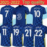 20/21 Kante Willian Soccer Jacket Tracksuit Surveetement 2020 Werner Ziyech Havertz Pulisic Full 지퍼 축구 자켓 훈련 정장