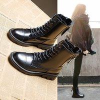 Martin Boots Bayan yeni deri ilkbahar ve sonbahar 2021