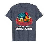 Все люди поднимают крошечные динозавры смешные куриные рубашки подарочная футболка