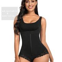 Shapewear for Women Tummy Control Fajas Colombianas Body Shaper Zipper Open Bust Bodysuit