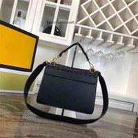 Designers Fend i Handbags Designer- Luxury Purse Kan i Fashion Totes Hollow Style Women Designer Bags Genuine Leather f Bag Yy QT7J