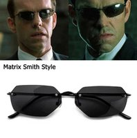 Jad Vintage Classic The Matrix Agent Smith Style Polarisierte Sonnenbrille Männer Kühle Klinker Feuerwürfel Sonnenbrille Die Sonne