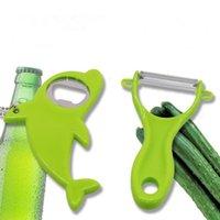 PP Acciaio inossidabile Peeling Knife Opener Apple Planing Home Fruit Rasoio Melon Rasoio Accessori da cucina DWWE10103