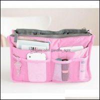 Storage Housekee Organization Home & Gardenstorage Bags Women Foldable Organizer Handbag Travel Bag Large Capacity Insert Liner Purse Organi