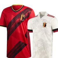 2021 بلجيكا لكرة القدم الفانيلة دي بروين R. Lukaku e.Hazard 20 21 22 قميص كرة القدم Kompany Mertens Camiseta Futbol Witsel Tielemans Carrasco Maillot Thailand