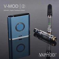 VAPMOD VMOD Две II I II Батарея 900 мАч Предварительный нагрев VV Переменная напряжение Vape Pen Box Mod Kit для 510 толстых масляных картриджей