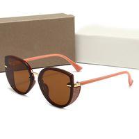 474 مصمم النظارات الشمسية الرجال النساء النظارات في ظلال الهواء الطلق إطار الأزياء الكلاسيكية سيدة نظارات الشمس المرايا للنساء
