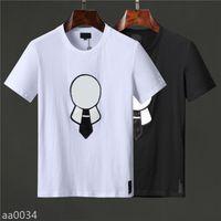 2021SS Designer T-shirt per il tempo libero T-shirt Mens Tees Fashion Brand Women Manica corta Shirts S-3XL AQA