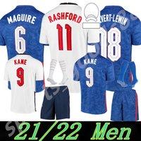 2021 2022 유럽 컵 국가 대표팀 + 키즈 키트 잉글랜드 축구 유니폼 Kane Sancho Sterling 20 21 Dele Lingard Rashford 어린이 청소년 축구