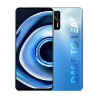 "Original Realme Q3 PRO 5G Mobiltelefon 8 GB RAM 128GB 256GB ROM MTK Dimension 1100 64.0mp AI 4500mAh Android 6.43 ""Am gelöster Vollbild-Fingerabdruck-ID Gesicht Smart-Handy"
